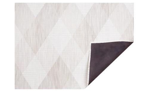 Chilewich Signal Woven Floor Mat   Sand