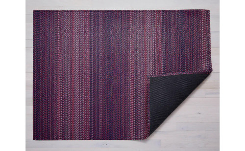 Chilewich Quill Woven Floor Mat   Mulberry