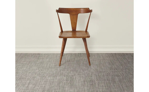 Basketweave Woven Floor Mat by Chilewich   Oyster