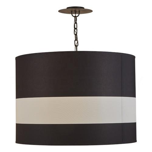 Black Jasper Barrel Pendant