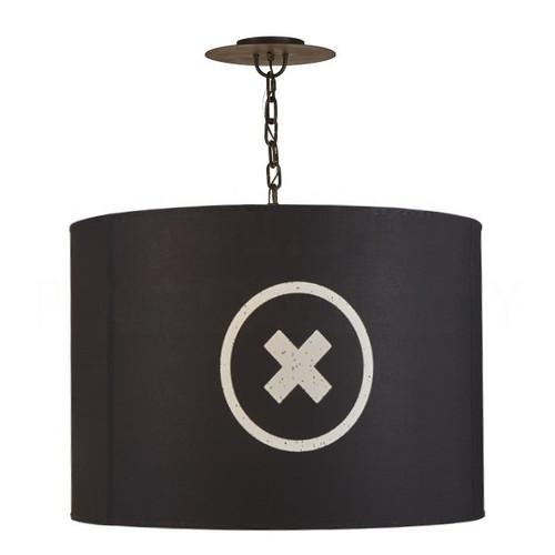 Obsidian Barrel Pendant