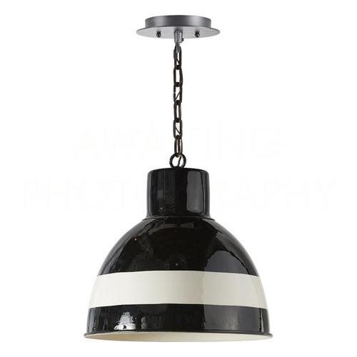 Black Jasper Bell Pendant