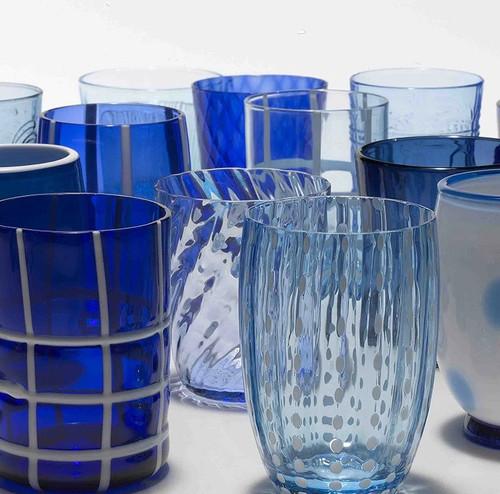 Melting Pot Tumblers (Set of 6)   Blue