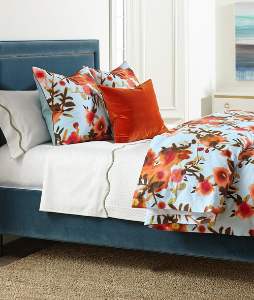 Open Spaces Bedding Collection | Aqua/Coral