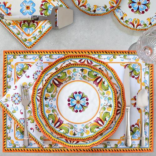 Toscana Melamine  Dinnerware Collection