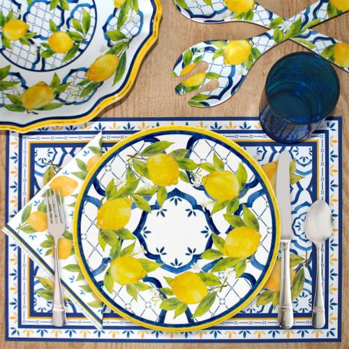 Palermo Melamine Dinnerware Collection
