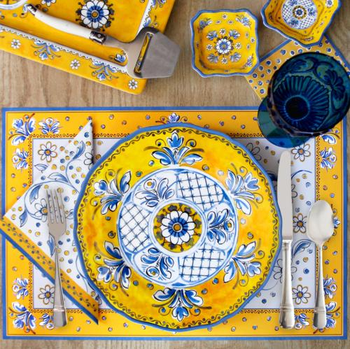 Benidorm Melamine Dinner collection