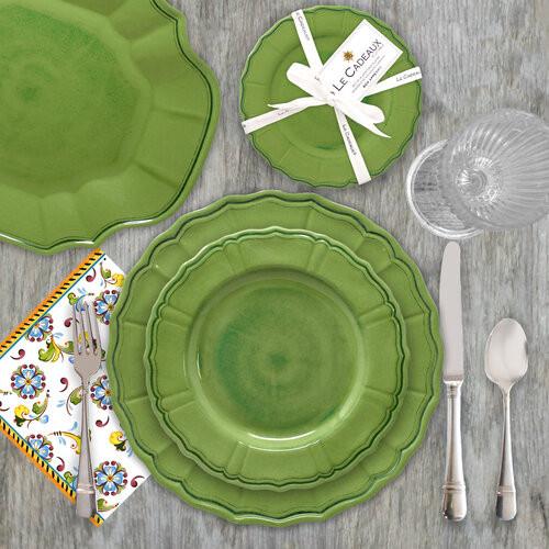 Terra Melamine Dinner Collection | Sage