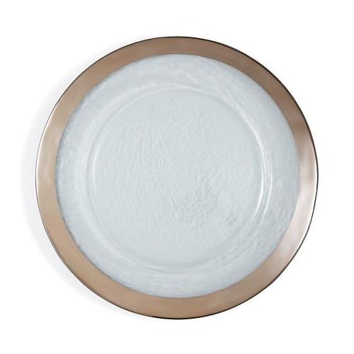 Annieglass Roman Service Plate