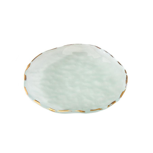 """Shells 9"""" Salad Plate by Annieglass"""