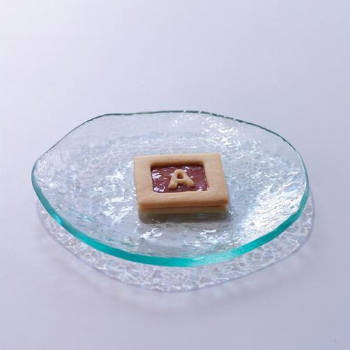 "Salt Side Plate 7"" by Annieglass"