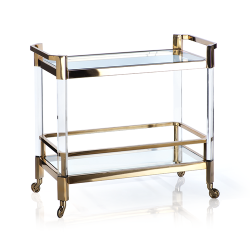 The Langham Bar Cart - Polished Gold
