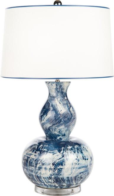 Blue Monterey Table Lamp