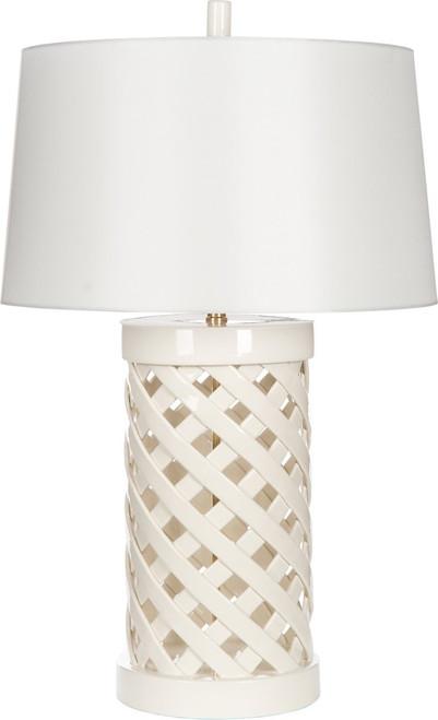 Summer Trellis Lamp by Barclay Butera