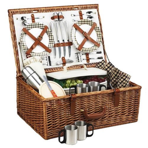 Dorset Basket for 4 w/Coffee