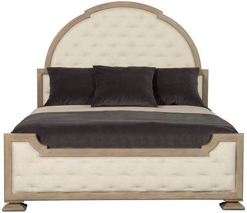 Santa Barbara Upholstered Panel Bed