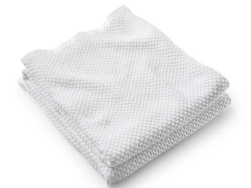 Harmony Cotton Blanket | White