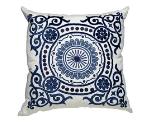 Blue Creme Linen/Navy