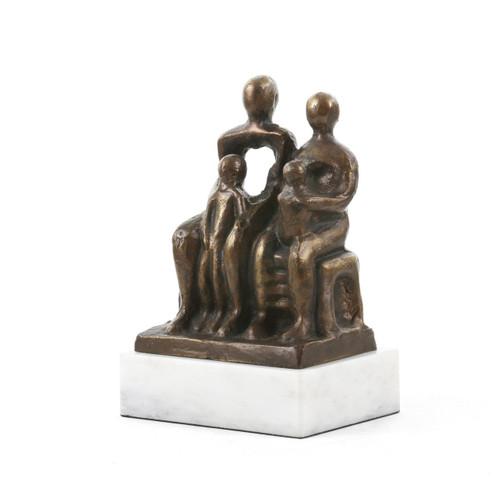 Bench Statue, Bronze