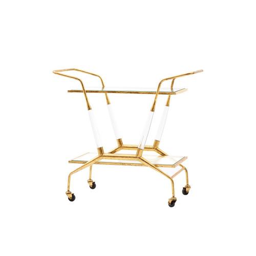 Jepson Bar Cart Gold