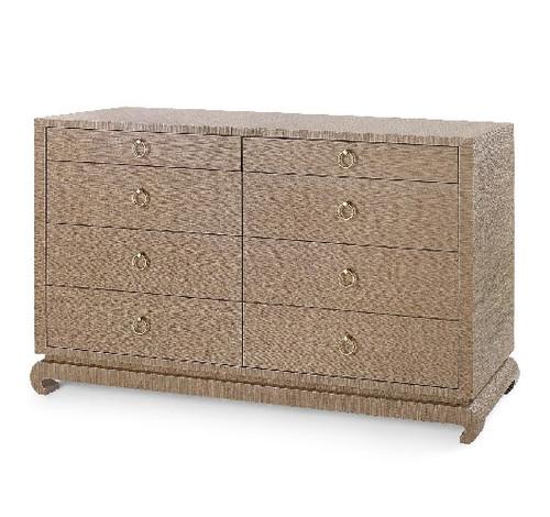 Ming Extra Large 8 Drawer Dresser   4 colors