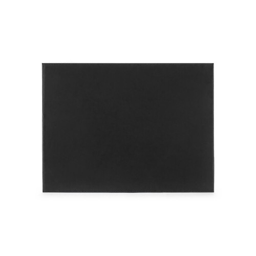 Hunter Leather Desk Blotter   Black