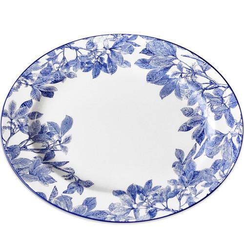 """Arbor Blue Large Oval Platter 16""""L"""