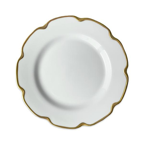 """Grace Gold Luncheon or Buffet Plate 9.75"""" S/4"""