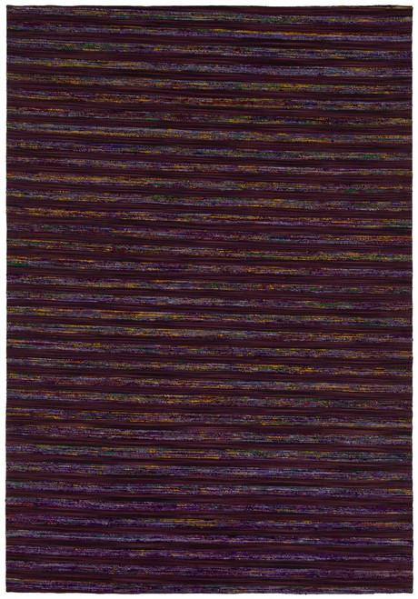 Aletta Textured Rug   Purple
