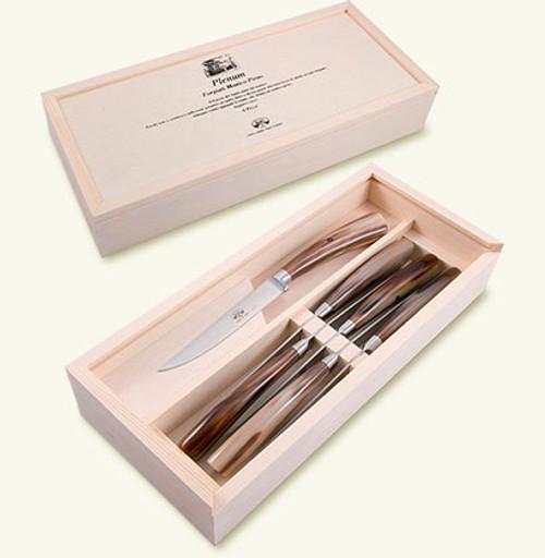 Plenum Ox Horn Steak Knives Set of 6