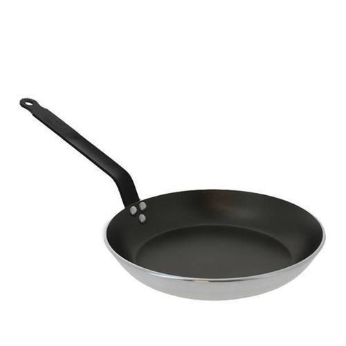 De Buyer CHOC Aluminium Round Frypan with Special handle, 14-in