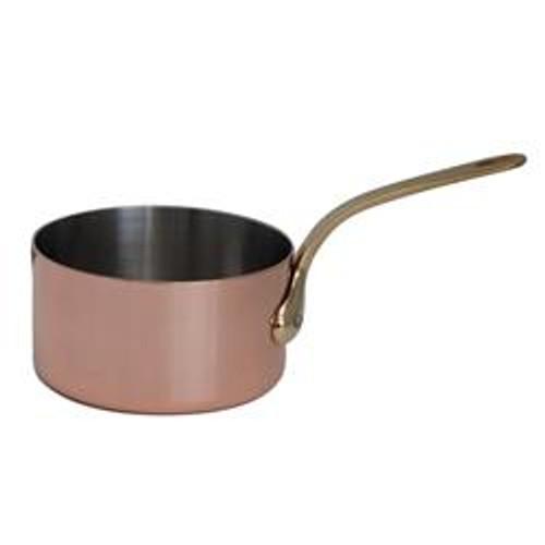 de Buyer Induction Copper Sauce Pan- 6.3 qt