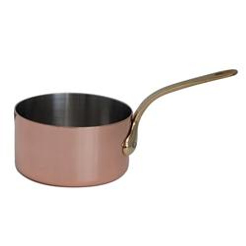 de Buyer Induction Copper Sauce Pan - 2.7 qt
