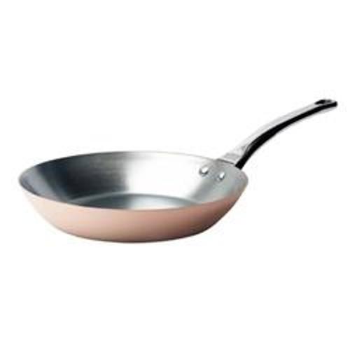 de Buyer Induction Copper Fry Pan 9.5-in