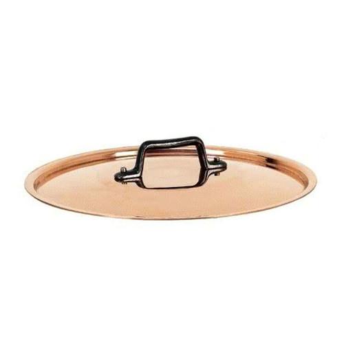 de Buyer Copper Lid w/ Cast Iron Lid, 11-in
