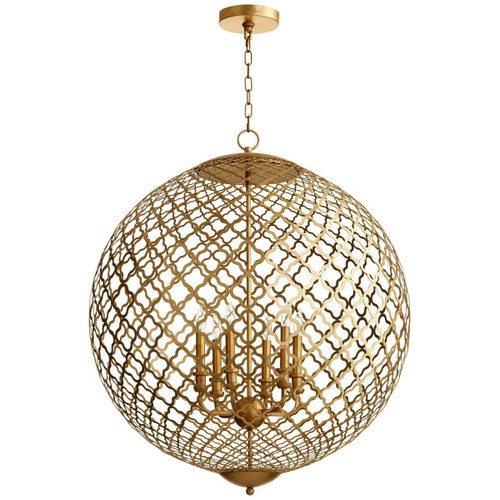 Cyan Design Skyros Six Light Pendant | Gold