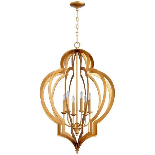 Cyan Design Vertigo Gold Leaf Chandelier