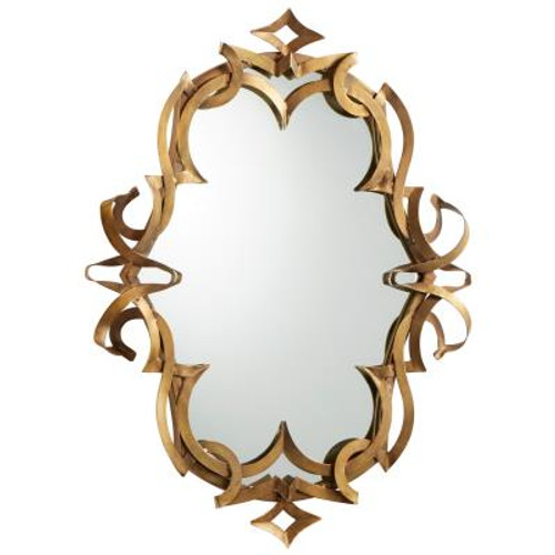 Charcroft Mirror, Gold
