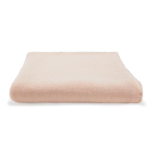 Locanda Bed Blanket  Dusty Rose
