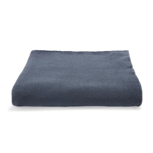 Locanda Bed Blanket  Washed Indigo