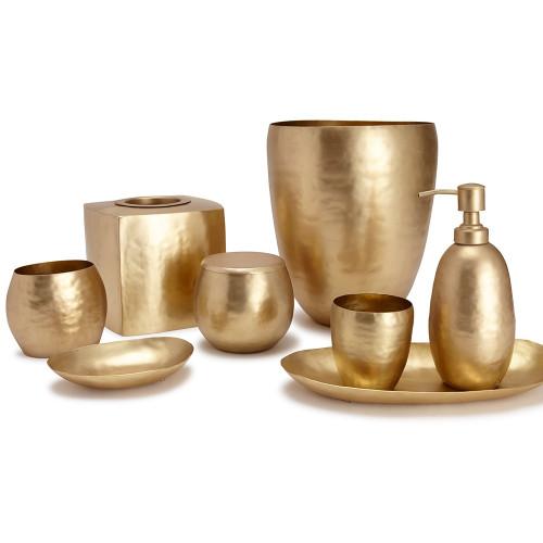 Nile Bath Accessories   Gold