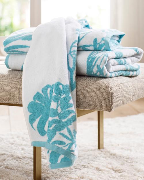 Palmaria Bath Towels by Anne de Solene