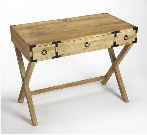 Forster Campaign Writing Desk   Natural