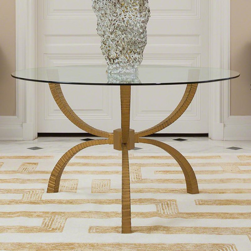 Teton Dining Table-Gold