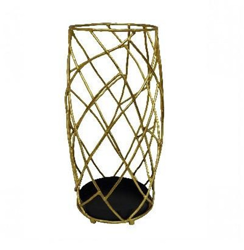 Gold Twig Umbrella Stand
