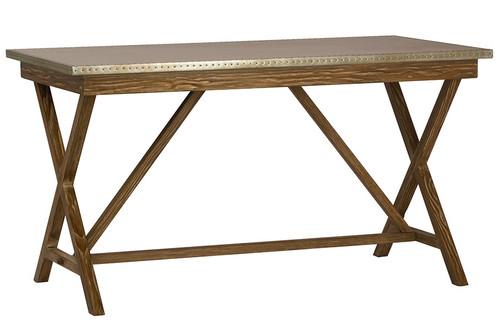 The Rane Metal Top Desk