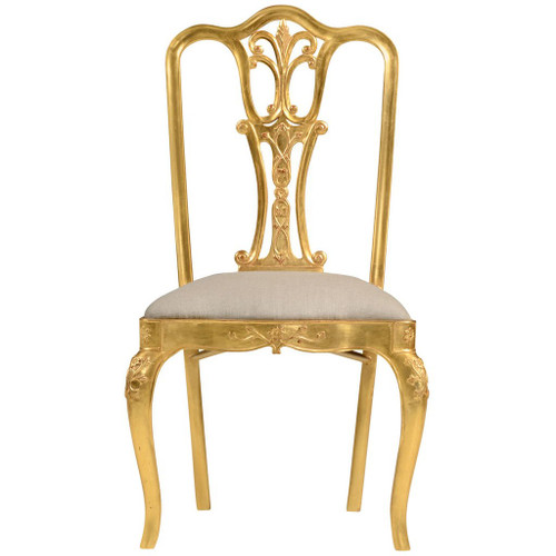 Gilded 18th C Style Dining Chair