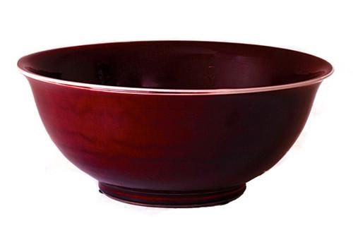 Oxblood Bowl
