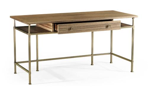 Hamilton Golden Amber Writing Desk