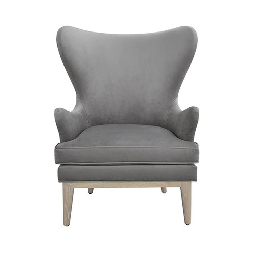 Frisco Wing Chair   Grey